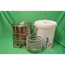 Бюджетная пивоварня НА ДОМУ котел на 33 или 50 литров
