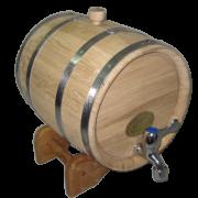 Бочка дубовая БОНПОС (нержавейка) 3; 5; 10; 15; 30 литров