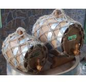 Бочка КОЛОТАЯ КЛЕПКА скальный кавказский дуб в оплетке БОНДАРЬ КУБАНИ