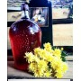 Бутыль винная стеклянная 4,5 литра с винтовой пробкой