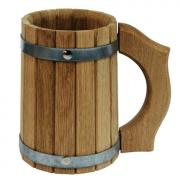 Кружка дубовая 1 литр