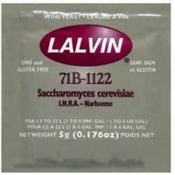Дрожжи сухие винные Lalvin 71B-1122