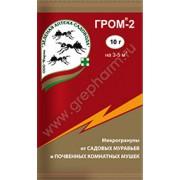 ГРОМ - 50ГР от садовых муравьев и почвенных мушек