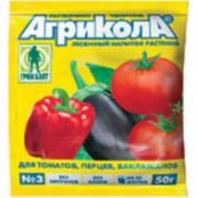 АГРИКОЛА -3- 50ГР. - У. комплексное для томат,перца,баклажан