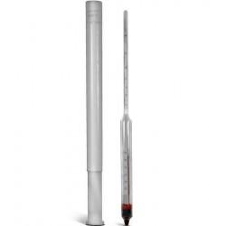 Ареометр с термометром для нефтепродуктов АНТ-1 разный диапазон измерения плотности