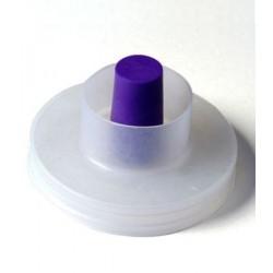Крышка с гидрозатвором для банок