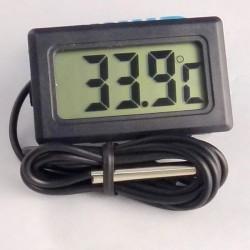 Термометр с проводным термосенсором выносной
