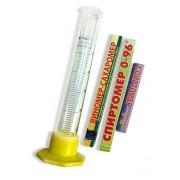 Комплект: НАБОР НОВИЧКА спиртомеры бытовые 3шт. + мерный цилиндр 50мл